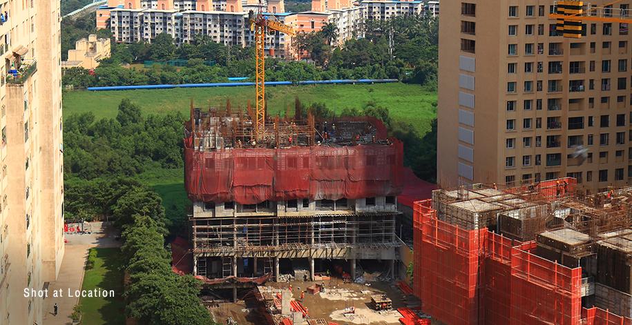 Azziano D Wing - 4th Floor RCC Work In Progress